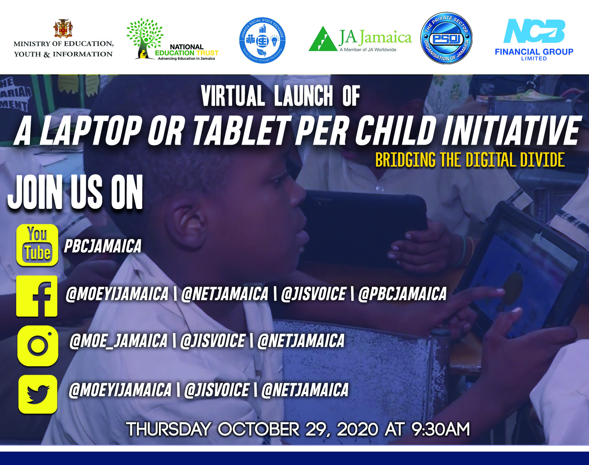 Launch of Laptop / Tablet Per Child Initiative