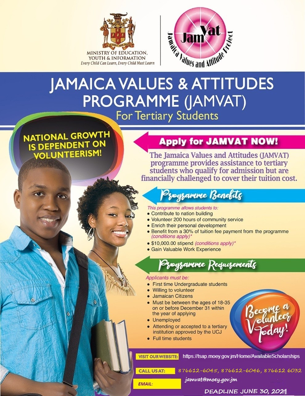 Jamaica Values and Attitudes Programme (JAMVAT)