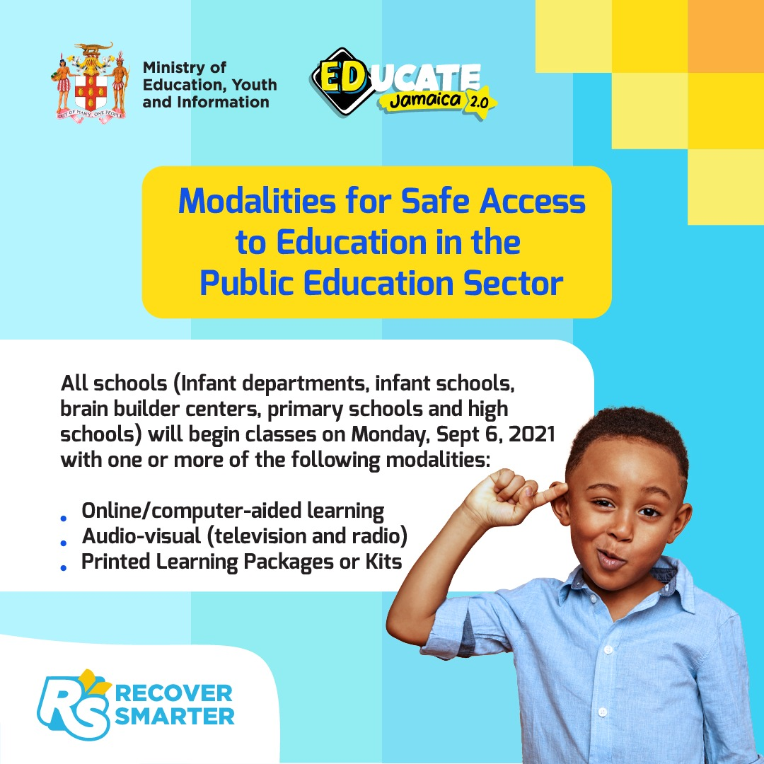 MODALITIES FOR SAFE ACCESS TO EDUCATION
