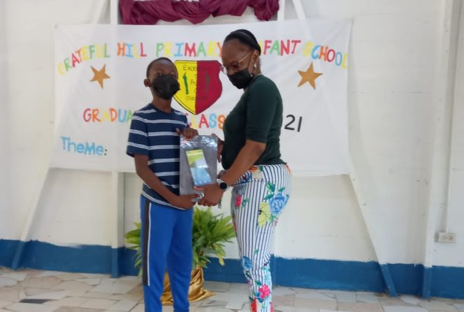 40 Tablets For Grateful Hill Primary